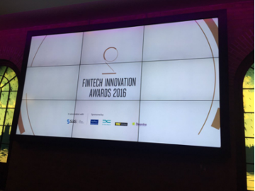 fintech innovation awards screen
